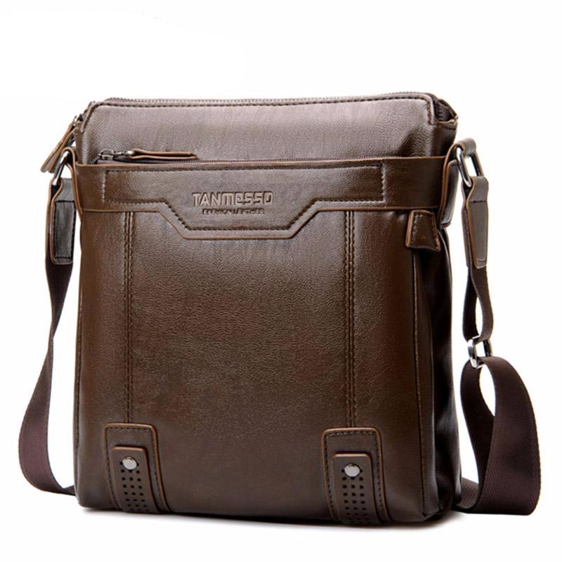 Hot fashion men  PU leather Multi-style luxury messenger bag