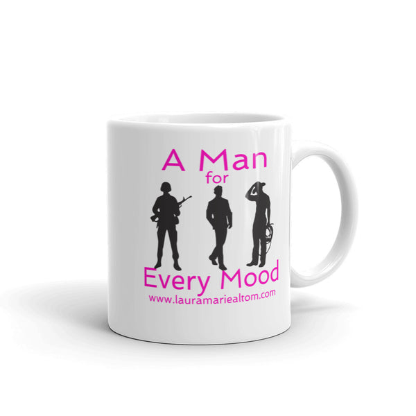 A Man for Every Mood Mug