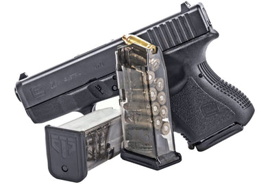 ETS MAG FOR GLK 26 9MM 10RD SMOKE