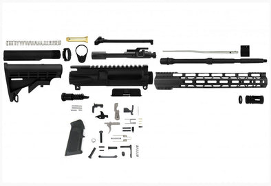 "Build Your Own Rifle Kit - 5.56 NATO 16"" Barrel - With Polymer80 Lower"