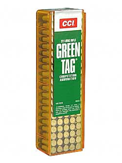 CCI 22LR GREEN TAG COMP 100/5000