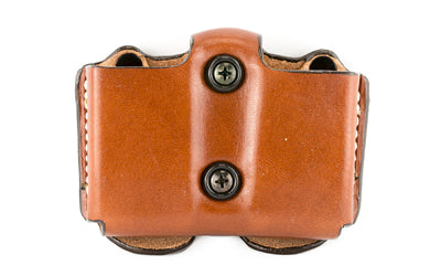 DESANTIS DBL MAG POUCH FOR GLK26 TAN