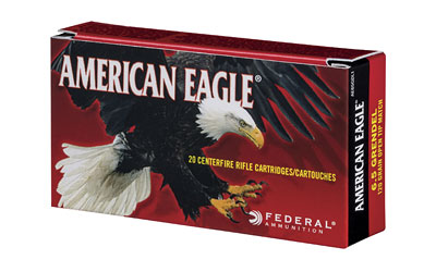 FED AM EAGLE 6.5GRNN120GR OTM 20/200