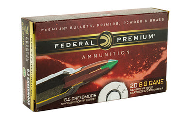 FED PRM 6.5CRD 120GR TRPHY CPPR 20RD