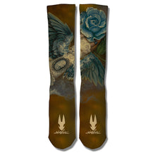 """Blue Fairy"" Socks"