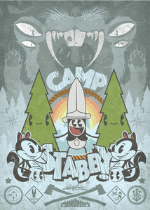 """Camp Stabby"" &  ""Stabby Flash"" Poster Set"