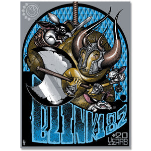 """Blink 182 - 20 Years"" Screen Print"