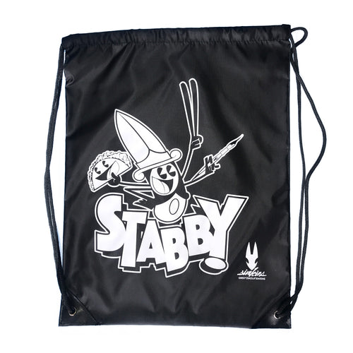 Stabby Drawstring Backpack