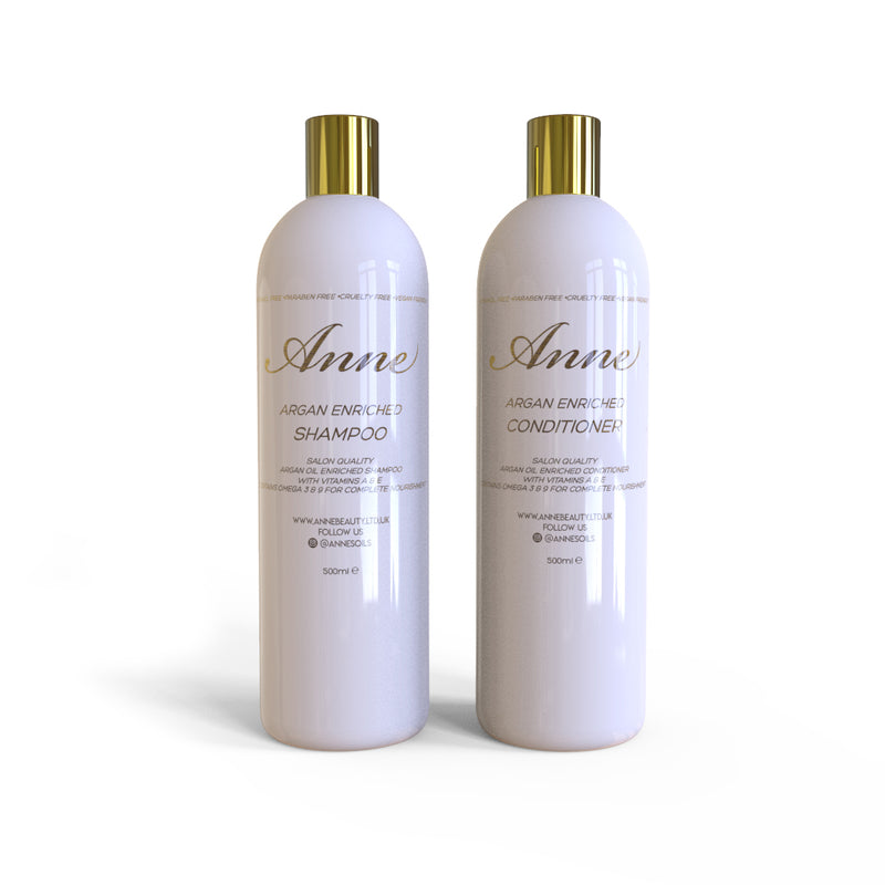 Argan Enriched Nourishing Shampoo & Conditioner
