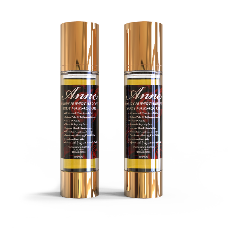Anne's Luxury Supercharged Body Massage Oil