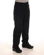ASBF Smitty Flat Front Pants with Slash Pockets BKS-277