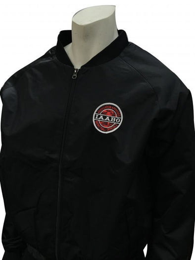 ASBI220 Smitty's IAABO Black Warm-Up Jacket I220