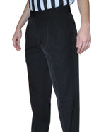 ASBW4PPS Smitty 4-Way Stretch Women's Lightweight Pleated Pants with Slash Pockets BKS-286
