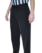 ASBW4PFS Smitty 4-Way Stretch Women's Lightweight Flat Front Pants with Slash Pockets BKS-288
