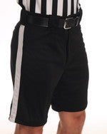 ASFP25 Black Shorts with White Stripe