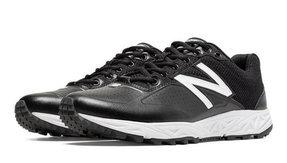 ASN950 Black and White New Balance Field Shoe Low and Mid Cut