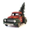 Vintage Farmhouse Little Red and Green Christmas Truck