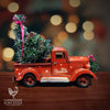 Gorgeous Vintage Red Farmhouse Christmas Truck