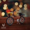 Vintage Red Village Christmas Bike