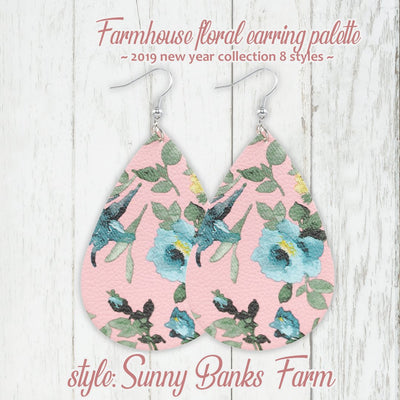 Farmhouse Floral Earring 2019