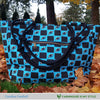 Carolina Football Inspired Hand Bag / Shoulder Bag / Purse