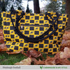 Pittsburgh Football Inspired Hand Bag / Shoulder Bag / Purse
