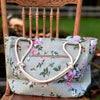 Summer Floral Farmhouse Hand Bag / Shoulder Bag / Purse