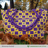 Minnesota Football Inspired Hand Bag / Shoulder Bag / Purse