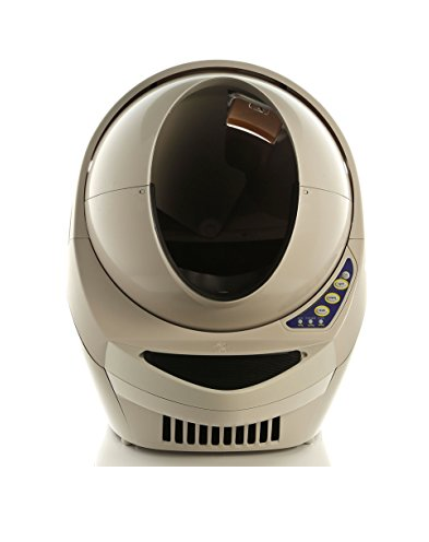 High-Tech Automatic Litter Box by Litter-Robot - Self-Cleaning - Space Capsule