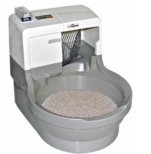 Self-Cleaning Automatic Cat Litter Box by CatGenie - Gray