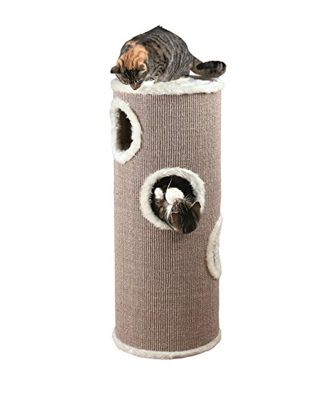 4 Story Premium Private Cat Tower by Trixie Pet Products