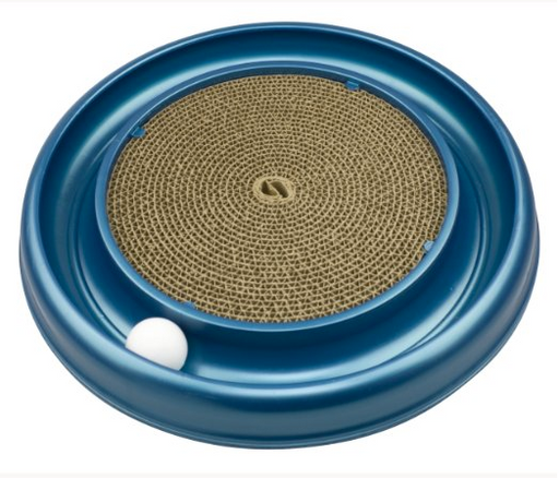 Circular Cat Toy with Ball by Bergan - Turbo Scratcher