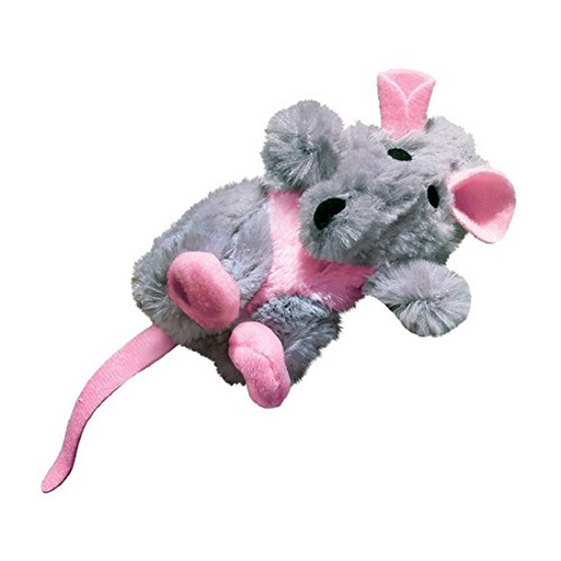 Refillable Stuffed Animal Catnip Cat Toy by Kong - Squirrel, Turtle, Mouse