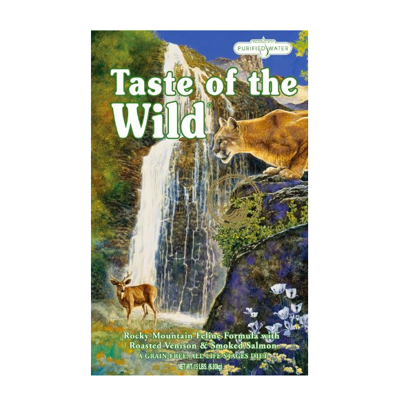 Grain-Free Dry Cat Food by Taste of the Wild - 15 Pounds