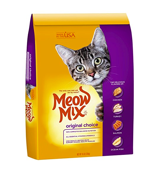 Dry Cat Food by Meow Mix - 16 Pound