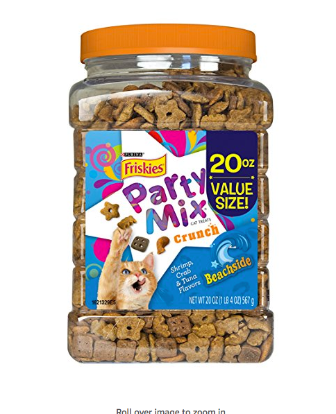 20oz Tub of Cat Treats by Purina - Beachside Party Mix