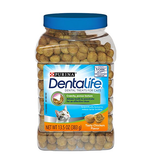 DentaLife Dental Treats for Cat by Purina - Chicken, Salmon