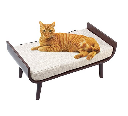 Fancy Cat Lounge Bed by Penn Plax Cat Furniture