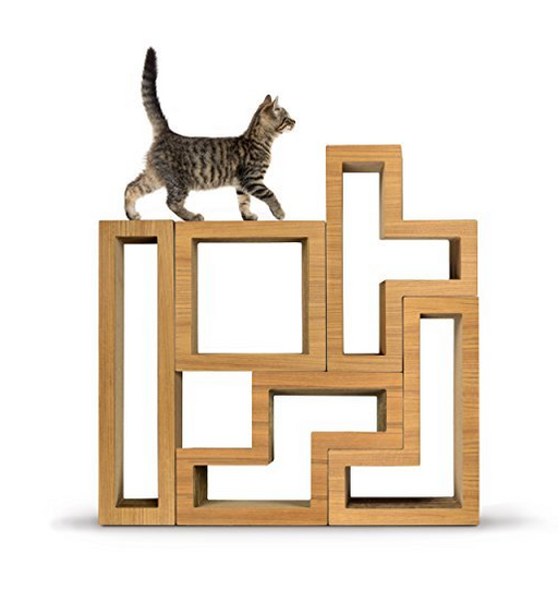 ultra modern cat tree with modular design by katris assorted colors