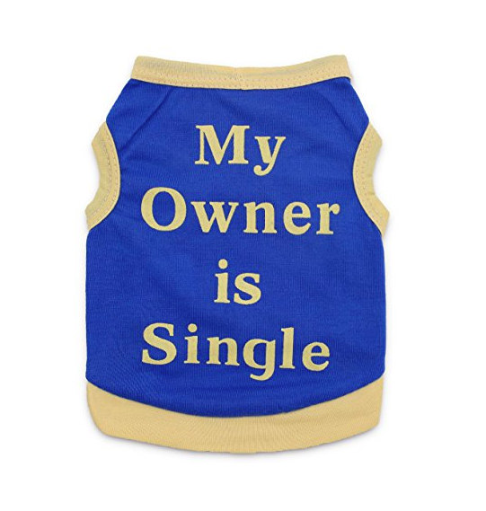 "Funny Cat Shirt - ""My Owner is Single"""