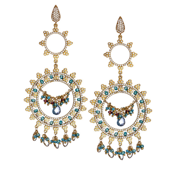 Bellina Chandelier Earrings