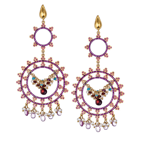 Delfina Chandelier Earrings