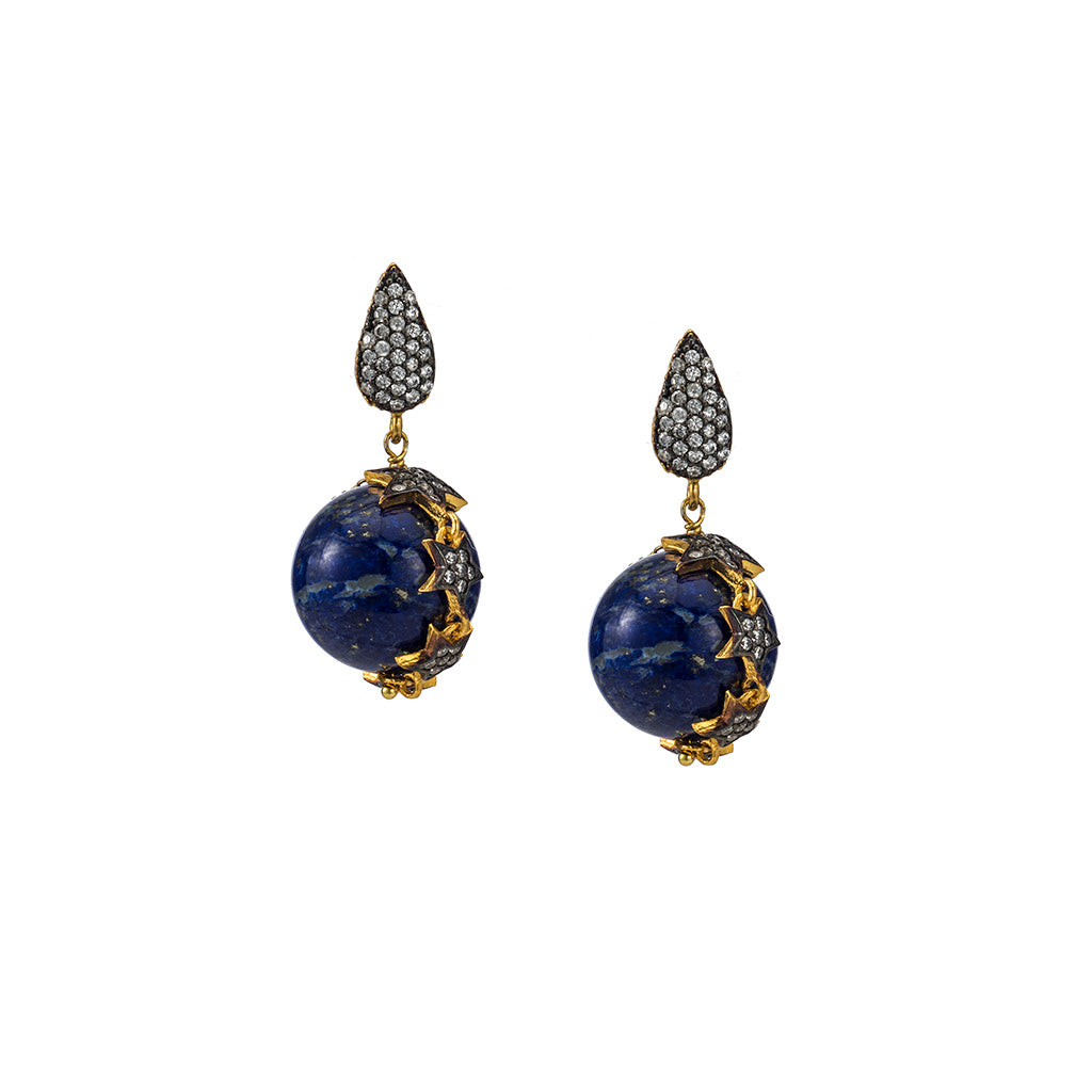 Celestial Lapis Earrings