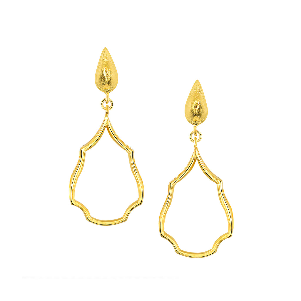 Delicate Chime Drop Earrings