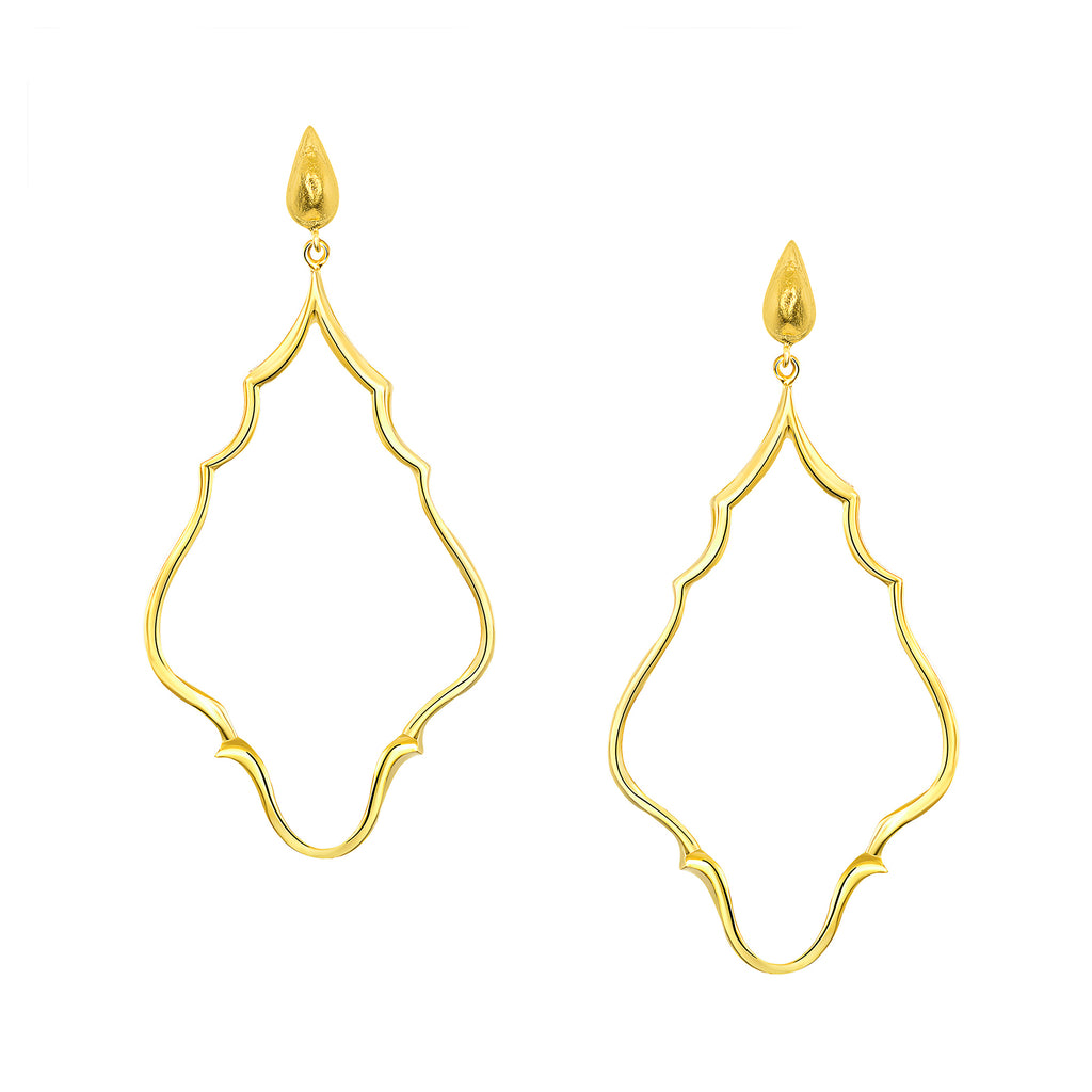 Azaara Byzantine Chime Drop Earrings