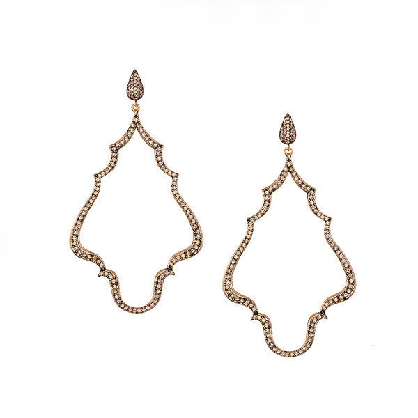 Vintage Champagne Chime Earrings