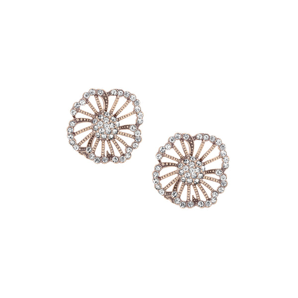 Azaara Vintage Floret Stud Earrings