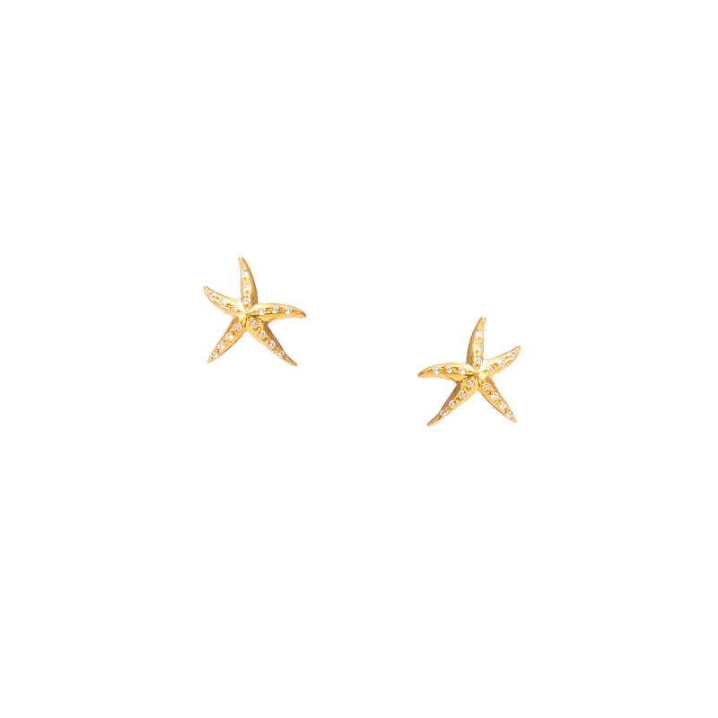 Under the Sea Starfish Stud Earrings