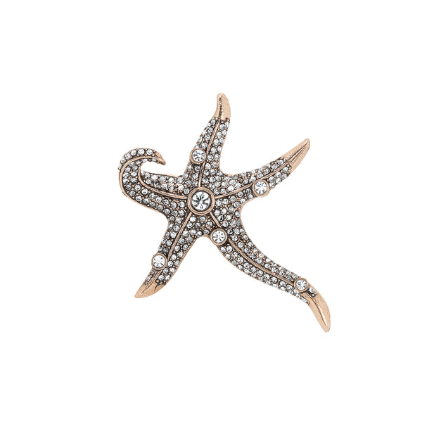 Vintage Starfish Brooch