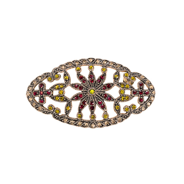 Vintage Champagne Marquis Brooch